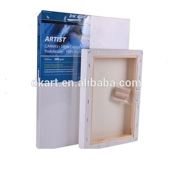 Premium Cotton Artist Canvas Blank Cotton Canvas with 1.8*3.8CM Spruce Wood, Frames for Stretched Canvas in Bulk