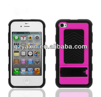 Case for iphone,Rubber Gel Skin Case Hard Cover Slim Fit For iPhone4 4G