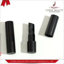 Fashion Black plastic lipstick case/tube/container,unique lipstick packaging
