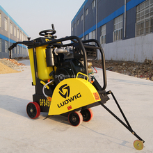 Portable gasoline asphalt floor saw/GX390 Honda road vibrating concrete cutting machine