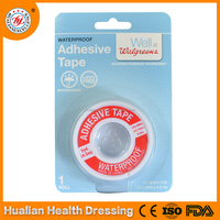 Zinc oxide cotton fabric hypoallergenic adhesives tape