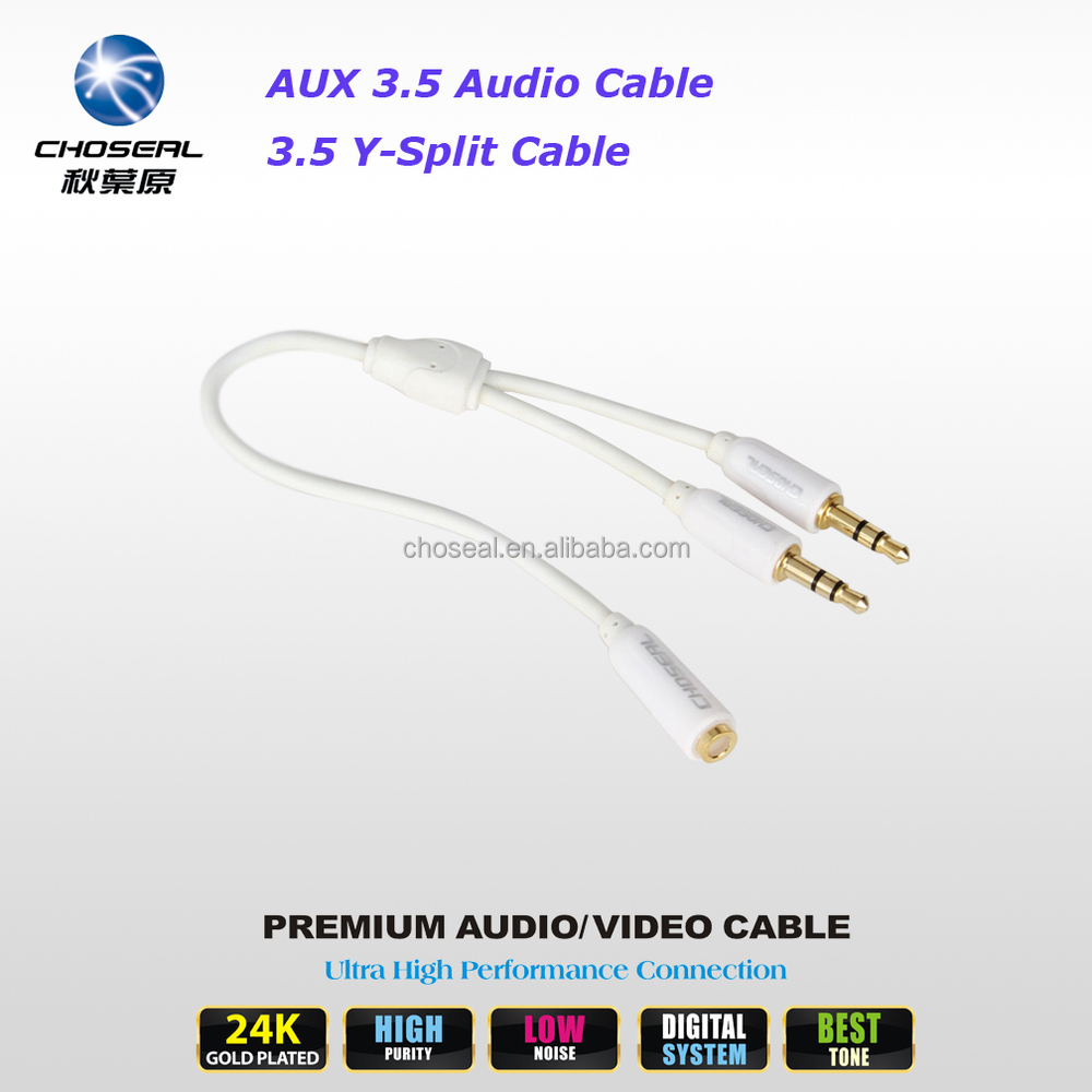 Wholesale Phone Plug Jack Online Buy Best From Audio Cable Kabel Aux 35mm Male To 2 X Female Choseal Strongjack Strong 1
