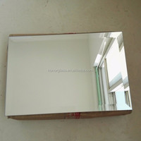 aluminum and silver glass mirror sheet
