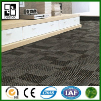 Carpet and Stone Series waterproof interlocking pvc floor 18 x 18 vinyl tile