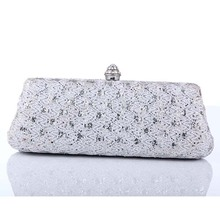 Ladies shoes and matching bags silver clutch bags