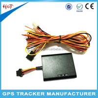 Car gps tracking alarm easy hide gps tracker for vehicle k100b electronic gps device