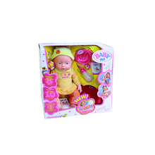 Hot selling 16 inch silicone child doll
