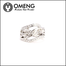 New Design Ladies Finger 925 Sun Silver Ring Engagement Ring Prices