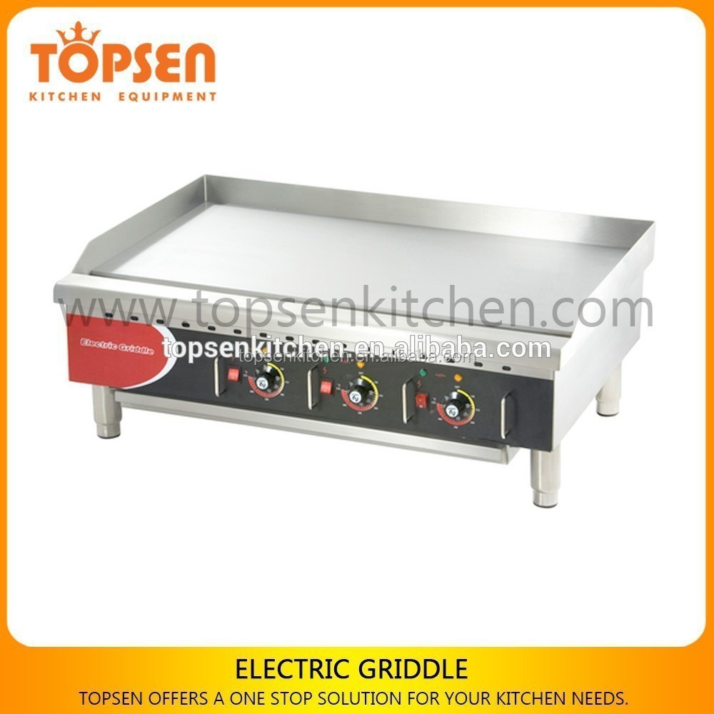 Top Level Cooking Range Griddle Industrial Electric Hot Plate