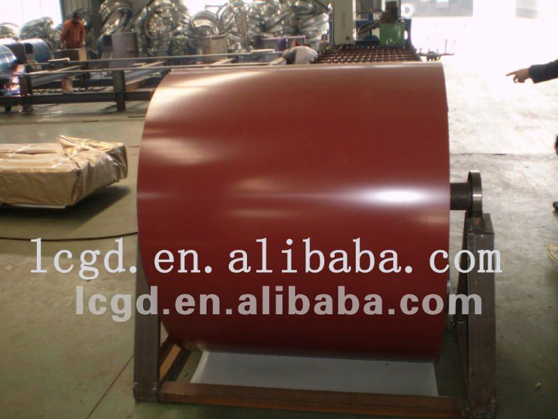 galvanizied prepainted cold rolled steel coil or ppgi coils