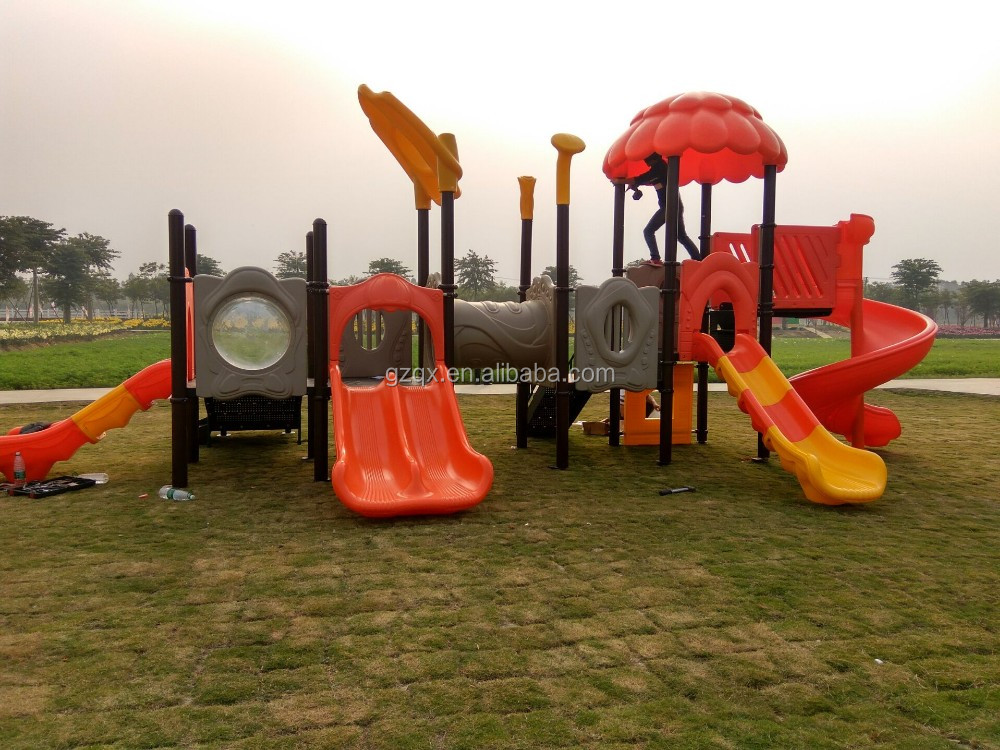2017 Newly design childrene outdoor amusement park slide for sale