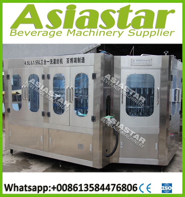 Purified Water Bottle Filling Machine / Equipment / Production Line