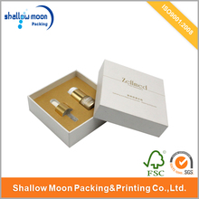 Customized printing essential oil bottle gift packaging box with lids