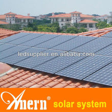 2013 NEW design high efficiency 3000W solar panel system