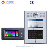 TYT multi apartments wireless video door phone intercom system for building