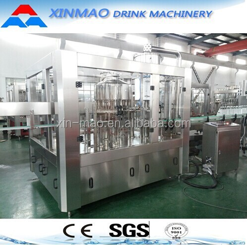 Bottled Water Processing Line, Automatic Mineral Water Production Line, Automatic Fruit Juice Filling Machine
