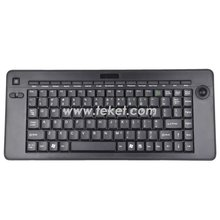 2.4G Wireless Keyboard with Trackball K5 for industrial,multimedia ,full size