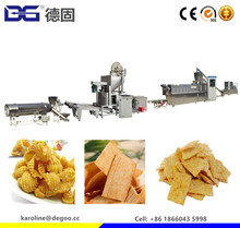Wheat Base Extrusion Snacks Sala Food Fried Crispy Bugle 3D Cone Machine Price