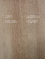 new design printed melamine decorative paper for furniture