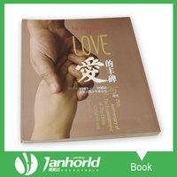 cheap price full color perfect binding softcover books print service