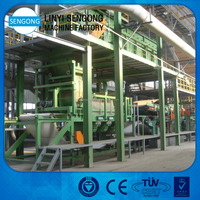 Mdf Manufacturing Machinery