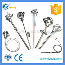 terminal head assembly type k probe K type thermocouple temperature sensor with junction box for thermal power plant
