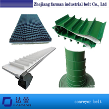 Cheap 3.5mm Dark Green Rough Top Pu Conveyor Belt For Conveying Of Iron Products