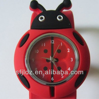 Rubber Slap Wristband Silicone Cartoon Watch