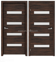 2017 factory cheap price entry prehung door interior solid wood door modern teak wood main door design