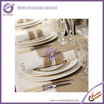 k0909 cheap bulk burlap napkin ring burlap napkin rings for weddings