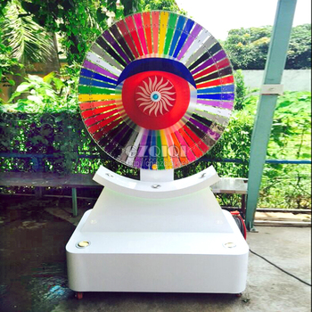 2018 new design fashion electrical lucky wheel for sale