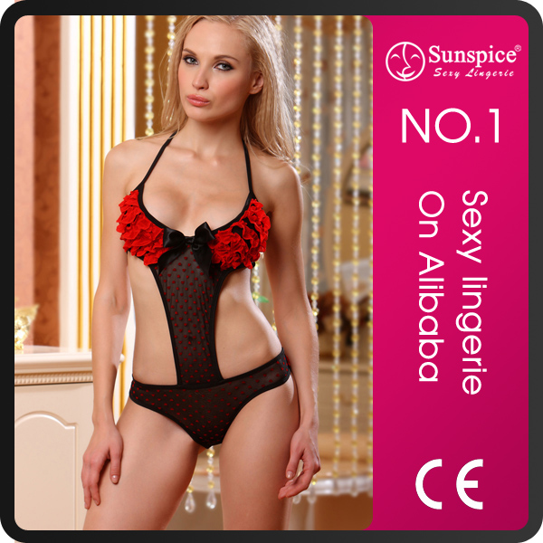 Factory new arrival hot sale plus size women sexy revealing lingerie