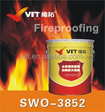 VIT fireproof paint for steel,fire retardant intumescent paint