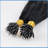 Long lasting fashion style real virgin hair from one donor good feedback grade AAAAA++ tiny tip bonding hair
