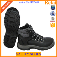 Wholesale Work ankle boots / men leather shoes work boots sale low price