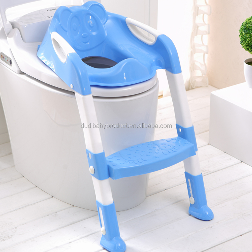 Baby Toilet Seat Kids Folding Potty Seat Chair With Ladder Child Chamber Pot Children Potty Ladder Seat Step