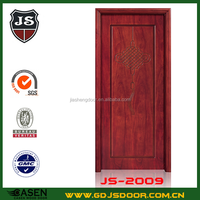 economic simple design wooden a60 fire rated door