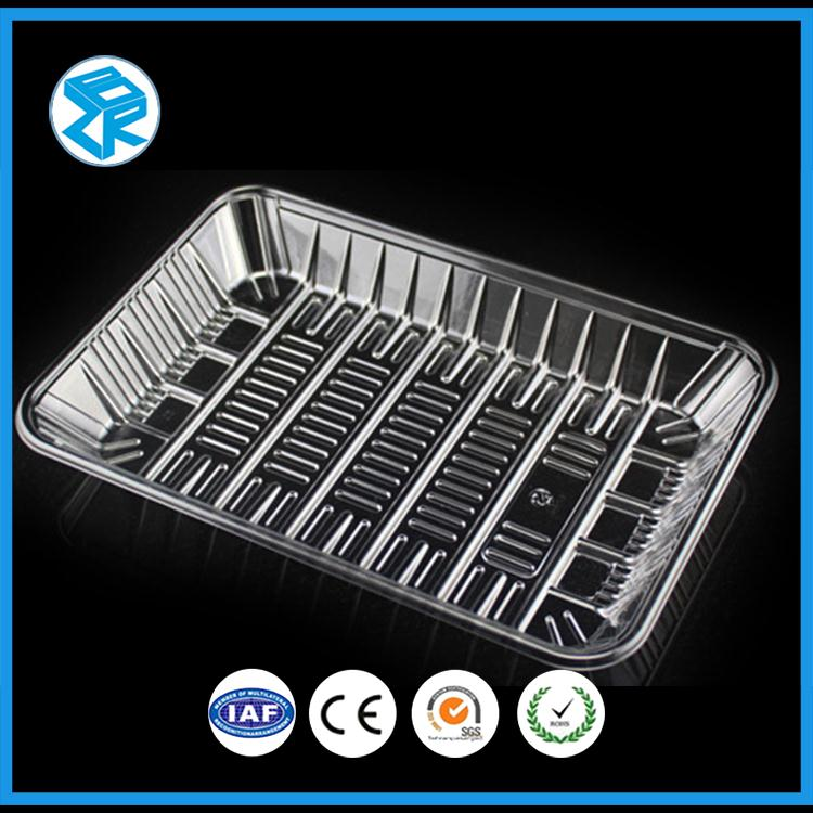 Secure Bread Tray Snack Pack Disposable Packaging Plastic Food Blister