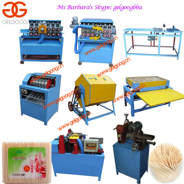 Bamboo Toothpick Making Machine|Bamboo Toothpick Production Line|Lower Price Toothpick Maker Machine