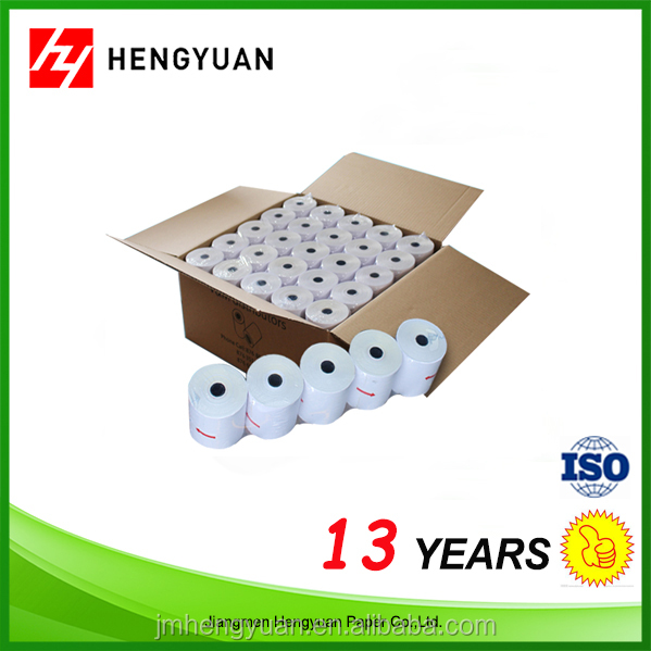 Fast Production Stock Lot Self Adhesive Bank Thermal Paper 80*80 Roll