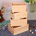 hot-sale elegant wooden fruit crates