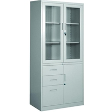 Factory Price Office Furniture Desktop Filing Cupboard Lockable Doors Drawers