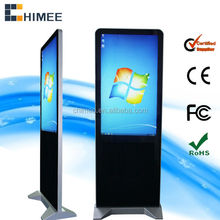 42 inch floor standing industrial computer touch LCD panel lastest all in one computer