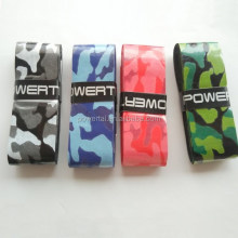 New design Camo overgrip/grip for tennis racket,thin tacky tennis racket grip