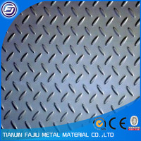 steel checkered plate size SS400 A36,