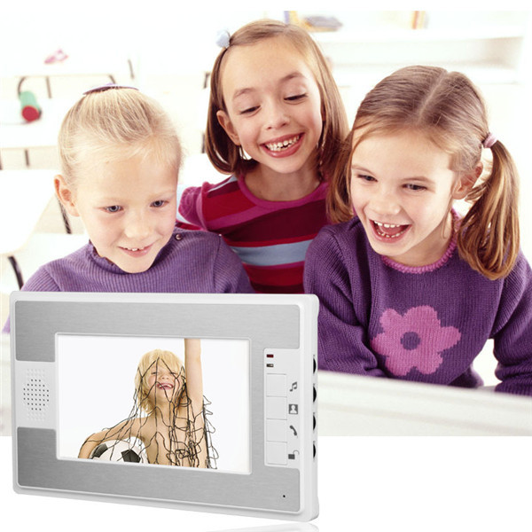 7 inch color video door phone Intercom Door bell Home Security Camera Monitor
