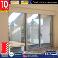 sound proof cubicles patio lift sliding screen door with AS2047