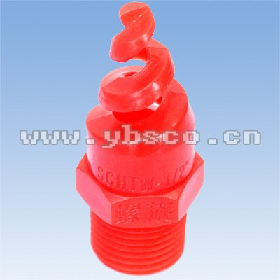 Red PP Spiral Nozzle(spiral jet nozzle , water spiral nozzle)