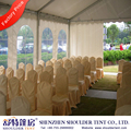 500 people restaurant tent with lining and curtains for sale