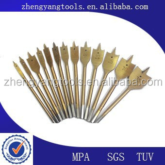 HSS Straight Shank Titanium Coated Drill Bit